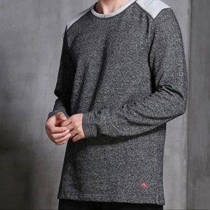 NWT Tommy Bahama heather Grey Lounge sweater XXL